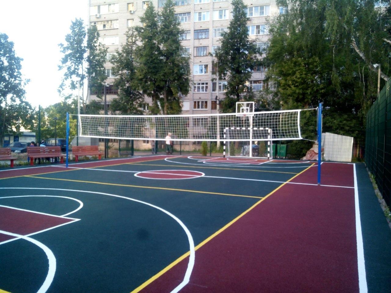 Уралдомстрой ЖК Авентино спорт площадка